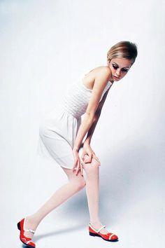 1960s Fashion Model Twiggy