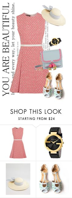 """dress"" by masayuki4499 ❤ liked on Polyvore featuring Giambattista Valli, Gucci, ASOS and Sophia Webster"