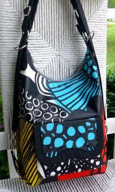 Cosmo Convertible Bag Pattern by StudioKat Designs