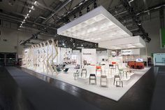 Brunner exhibition stand at Orgatec 2016, Cologne. A project by Ippolito Fleitz Group – Identity Architects.