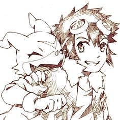 Daisuke & Veemon