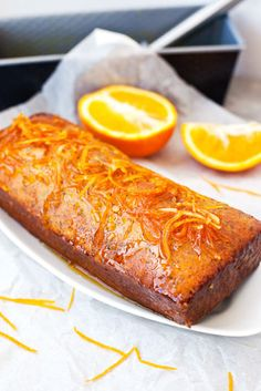 Hum... #Gâteau au jus d'#orange.