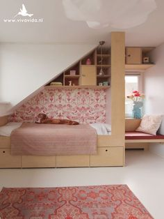 15 Attic Bedroom Trend to Inspire You Bedroom - Bedroom Design Attic Bedrooms, Teen Bedroom, Master Bedroom, Creative Kids Rooms, Loft Room, Custom Made Furniture, The White Company, Room Inspiration, Attic Ideas