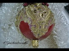 Day 5 of 10 Days of Christmas Ornaments with Cynthialoowho 2013 - YouTube