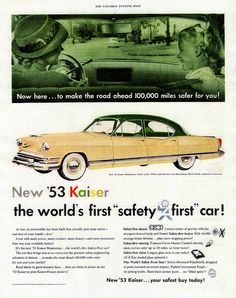 1953 Kaiser Manhattan 4-Door Sedan
