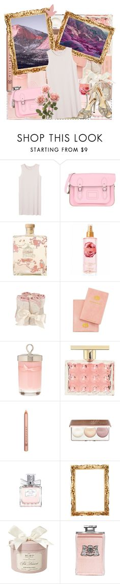"""""""Jesus Christ Blues"""" by paper-towns ❤ liked on Polyvore featuring Monki, The Cambridge Satchel Company, Melissa, Lollia, Victoria's Secret, CO, Juicy Couture, Aerie, Rigaud and Michael Kors"""