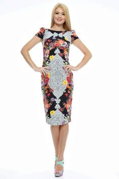 Rochie imprimata flori/lire rotunda la gat. Peplum Dress, Formal Dresses, Stuff To Buy, Fashion, Formal Gowns, Moda, Fashion Styles, Formal Dress, Gowns