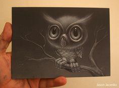 owl by ~JasonJacenko on deviantART