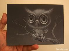 owl by ~JasonJacenko on deviantART