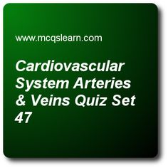 Kidney Bowman's Capsule and Glomerulus Quiz - MCQs Questions and Answers - Online A level Biology Quiz 47 Quiz With Answers, Quiz Questions And Answers, Question And Answer, Sat Practice Test, Biology Online, A Level Biology, Arteries And Veins, Molecular Biology, Multiple Choice