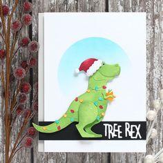 Cheery Lynn Designs: Shari Carroll on the Simon Says Stamp blog making Tree Rex!