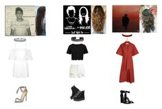 """""""This Town//Just Hold On//Sign Of The Times"""" by wallflowerofdesires14 ❤ liked on Polyvore featuring Ted Baker, Lemaire, R13, Alexandre Birman, Kendall + Kylie, H&M, Charlotte Russe and Bling Jewelry"""