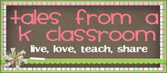 Tales From a K-1 Classroom: great template and blog with many resources