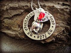 Firefighter Hero Necklace  Firefighter Wife  by CharmletteDesigns, $28.00