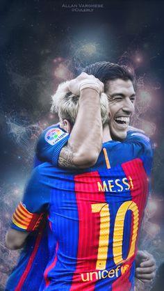 Suarez et Messi Fc Barcelona
