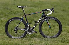 Peter Sagan's new World Champion edition Specialized Tarmac S-Works