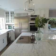 River White Granite, Transitional, kitchen, K Sarah Designs