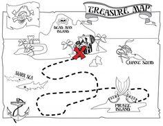 Mapa del tesoro¡Bienvenidos niños! Si un tesoro