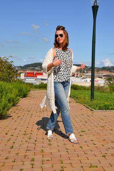 Comfy #look con Top Estampado Leopardo y boyfriend jeans  Asesora de Imagen & Personal Shopper en Asturias www.yohanasant.es
