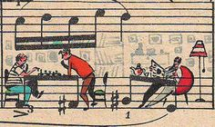 21 Most Creative Sheet Music Artworks. Check out Flight Of The Bumblebee. lol