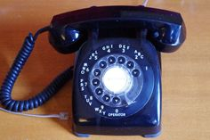 Vintage 1960s Automatic Electric Rotary Dial by retrowarehouse