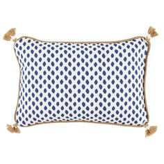 SET OF TWO Thibaut Pillow Covers Zebra