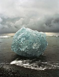 Not sure what this is - perhaps a ball of frozen ice washed ashore. Very intriguing.