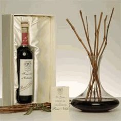 Rosso Nobile Fragranza Ambiente Antica Farmacista by Antica Officina del Farmacista Antica Farmacista. $300.00. Rosso Nobile is a red wine fragrance made from essences comprising of fine dessert wine blended with essential oils, herbs and spices. Uniquely Grape Vines are used to defuse this fragrance with its own reusable decanter. This luxurious and unique fragrance appeals to both men and women and would make a statement equally in your home or professional environment. Set ...