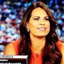 Jessica Mendoza (@jessmendoza) | Twitter Jessica Mendoza, Stanford Cardinal, Nfl Network, Softball Players, The Outfield, American Sports, One Team, Female Athletes, Espn