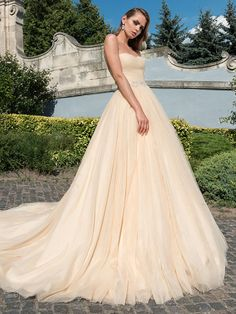 Bridesfamily Graceful Tulle Sweetheart Neckline A-Line Wedding Dress With Beaded Lace Appliques Sexy Wedding Dresses, Wedding Dresses Plus Size, Plus Size Wedding, Cheap Wedding Dress, Designer Wedding Dresses, Bridesmaid Dresses, Prom Dresses, Ball Dresses, Ball Gowns