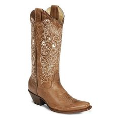 wedding boots - Corral Bone Embroidery | Super Cute Cowgirl Boots |... ❤ liked on Polyvore featuring shoes, boots, embroidered western boots, embroidered boots, embroidered cowgirl boots, embroidered shoes and western boots