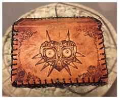Leather burnt Tobacco Pouch   Majora's Mask of Zelda