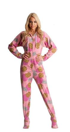 You'll be saying no to nights out when you see these snuggle-worthy sleepwear and luxe onesies. Cute Onesies, Cute Pjs, Cute Pajamas, Adult Onesie Pajamas, Girls Pajamas, Pyjamas, Teen Pjs, Adult Baby Costume, Pijamas Onesie