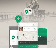 Transport App - iOS8 - iPhone on App Design Served