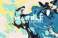Marble Painting Textures by Dreamstale on @creativemarket