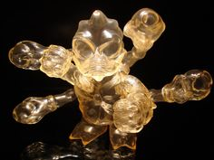 Cronic - Maverasu Unpainted Clear 2006 #toys #kaiju #collectibles #art #sofubi