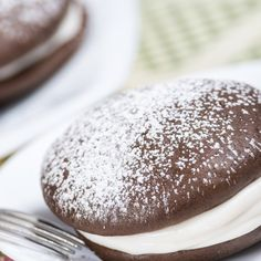 Chocolate Sandwiches with Crème Filling  vegan