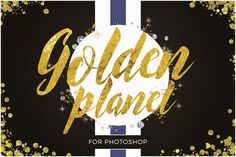 Golden Planet for Photoshop by Ivan Rosenberg on Creative Market