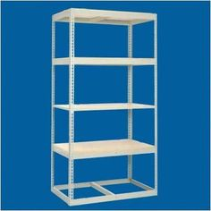 "Tennsco Z Line Low Profile 4 Shelf Shelving Unit Add-On Finish: Medium Grey, Size: 84"" H x 36"" W x 48"" D"