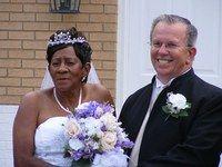June 23, 40 years ago, the first interracial couple in Orange County was married. Alvin and Omelia Garner got their marriage license a year after the U.S. Supreme Court struck down state laws forbidding such unions. To mark this year's anniversary, the Garners decided to celebrate in style and have the wedding they never had.