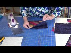▶ Fun & Done a quilt as you go technique. - YouTube