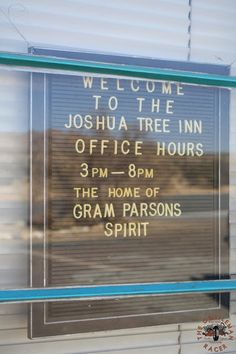 Destination: The Joshua Tree Inn - TheGentlemanRacer.com