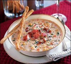 Lobster Chowder Recipe - Golden Rock Plantation, Nevis Island