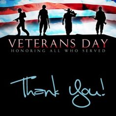 Happy Veteran's Day! Thank You to all of the men & women who sacrifice for our safety! #veteransday | That Girl Shelley