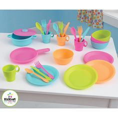 "KidKraft Bright Cookware Set - KidKraft - Toys ""R"" Us"