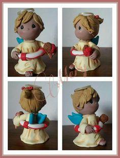 Bomboniere#bomboniere fimo#bamboline#doll#polymer clay#Il fimo di Mery