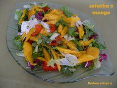 Kuchnia u Krysi : Sałatka z mango