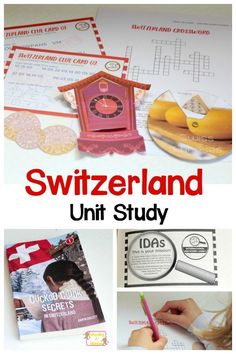 They won't after using this exciting hands-on Switzerland unit study investigating the ins and outs of Switzerland! 6th Grade Activities, Diversity Activities, Social Studies Activities, Kids Learning Activities, Teaching Kids, Hands On Geography, Geography For Kids, Geography Lessons, Learning Time
