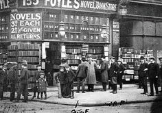 U.K. Bookstore Foyles at 135 Charing Cross Road in 1906