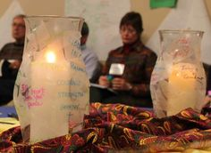 (love this- maybe for womens retreat?) Beautiful prayer station ideas
